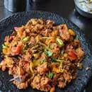 Curry Rotti (chicken/lamb/veg/fish)